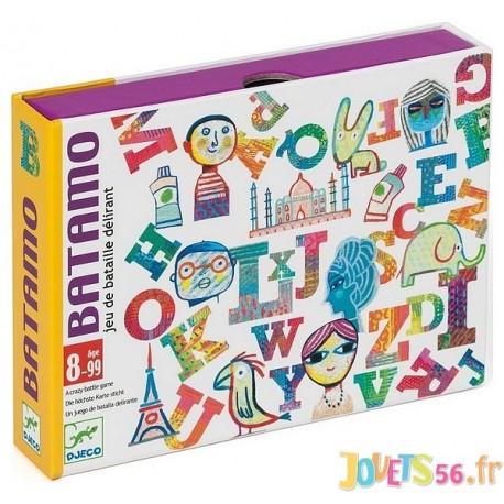 JEU CARTES BATAMO - Jouets56.fr - Magasin jeux et jouets dans Morbihan en Bretagne