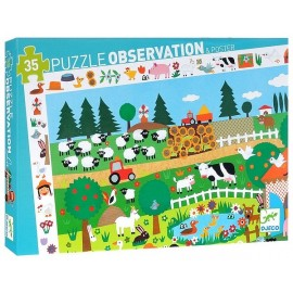 PUZZLE OBSERVATION LA FERME 35PCS