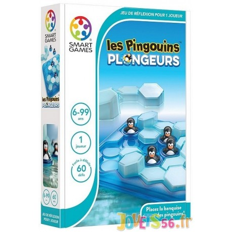 JEU LES PINGOUINS PLONGEURS - Jouets56.fr - Magasin jeux et jouets dans Morbihan en Bretagne
