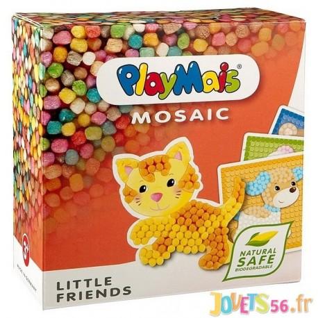 PLAYMAIS ANIMAUX COMPAGNIE MOSAIC - Jouets56.fr - Magasin jeux et jouets dans Morbihan en Bretagne