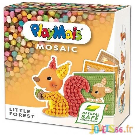PLAYMAIS LITTLE FOREST MOSAIC - Jouets56.fr - Magasin jeux et jouets dans Morbihan en Bretagne