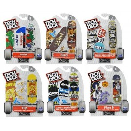 TECH DECK PACK DE 1 FINGER SKATE ASST