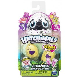 PACK DE 2 HATCHIMALS COLLECTIONNABLES SAISON 3