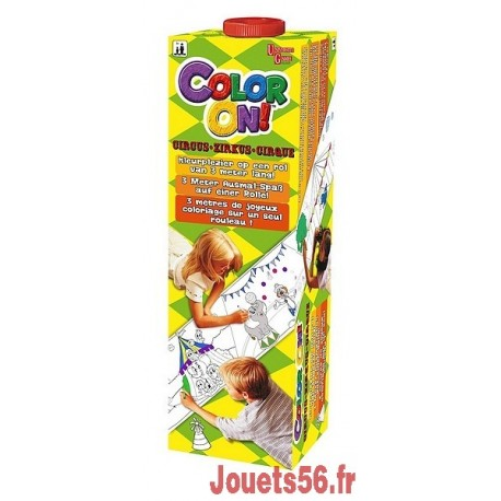 COLOR ON CIRQUE ROULEAU DE 3M-jouets-sajou-56