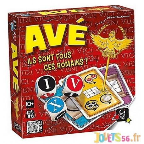 JEU AVE ILS SONT FOUS CES ROMAINS - Jouets56.fr - Magasin jeux et jouets dans Morbihan en Bretagne