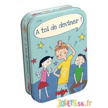 JEU A TOI DE DEVINER BOITE METAL - Jouets56.fr - Magasin jeux et jouets dans Morbihan en Bretagne
