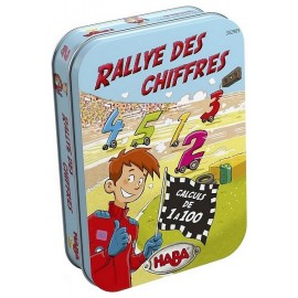 JEU RALLYE DES CHIFFRES BOITE METAL