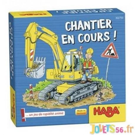JEU CHANTIER EN COURS - Jouets56.fr - Magasin Jeux et Jouets dans le Morbihan en Bretagne