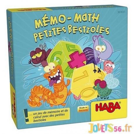 MEMO-MATH PETITES BESTIOLES - Jouets56.fr - Magasin Jeux et Jouets dans le Morbihan en Bretagne
