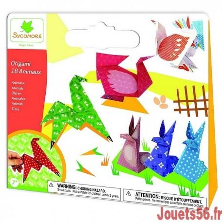ORIGAMI ANIMAUX-jouets-sajou-56