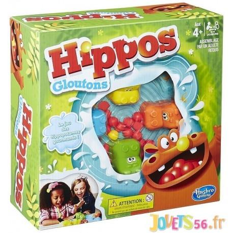 JEU HIPPOS GLOUTONS - Jouets56.fr - Magasin jeux et jouets dans Morbihan en Bretagne