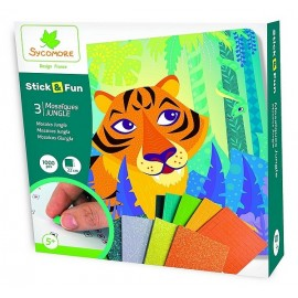 STICK&FUN JUNGLE 3 MOSAIQUES 1000 PIECES