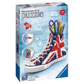 PUZZLE 3D SNEAKER UNION JACK 108PCES - Jouets56.fr - Magasin jeux et jouets dans Morbihan en Bretagne