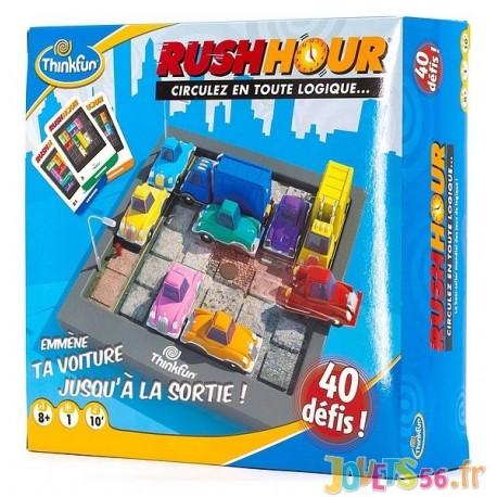 JEU RUSH HOUR 40 DEFIS - Jouets56.fr - Magasin jeux et jouets dans Morbihan en Bretagne