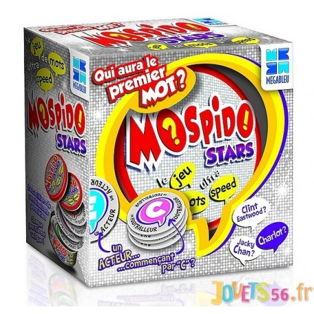 JEU MOSPIDO STARS - Jouets56.fr - Magasin jeux et jouets dans Morbihan en Bretagne