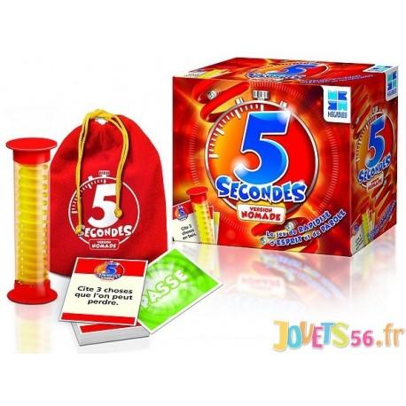 JEU 5 SECONDES NOMADE AVEC SAC - Jouets56.fr - Magasin jeux et jouets dans Morbihan en Bretagne