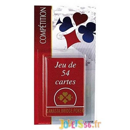 JEU 54 CARTES COMPETITION BLISTER - Jouets56.fr - Magasin Jeux et Jouets dans le Morbihan en Bretagne