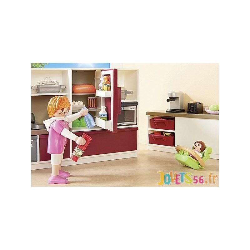 Playmobil Cuisine Amenagee 9269 Cadeaux De Vacances
