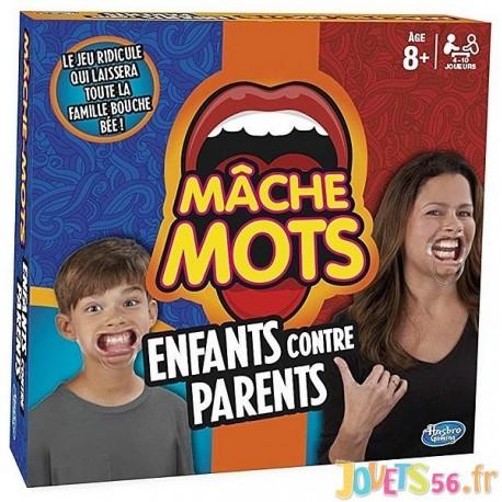 JEU MACHE-MOTS ENFANTS CONTRE PARENTS - Jouets56.fr - Magasin Jeux et Jouets dans le Morbihan en Bretagne