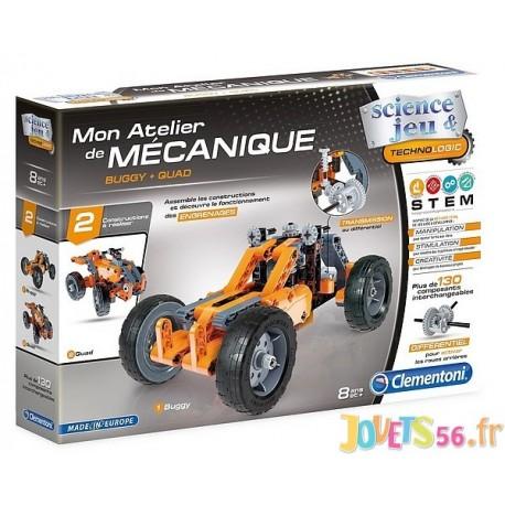BUGGY ET QUAD MON ATELIER DE MECANIQUE - Jouets56.fr - Magasin jeux et jouets dans Morbihan en Bretagne