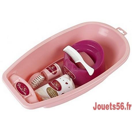 BAIGNOIRE ET ACCESSOIRES PRINCESS CORALIE-jouets-sajou-56