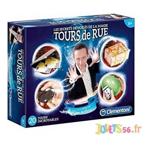 TOURS DE RUE 20 TOURS DE MAGIE - Jouets56.fr - Magasin jeux et jouets dans Morbihan en Bretagne