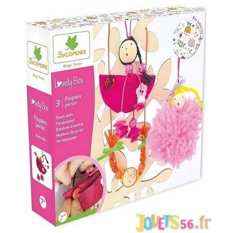 POUPEES PERLES LOVELY BOX PM - Jouets56.fr - Magasin Jeux et Jouets dans le Morbihan en Bretagne