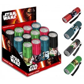 LAMPE TORCHE LED STAR WARS