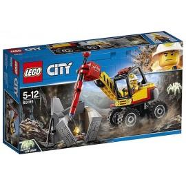 60185 EXCAVATRICE AVEC MARTEAU PIQUEUR LEGO CITY - Jouets56.fr - Magasin Jeux et Jouets dans le Morbihan en Bretagne