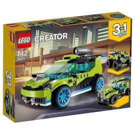 31074 LA VOITURE DE RALLYE LEGO CREATOR