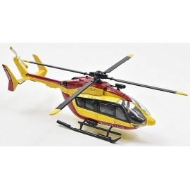 HELICOPTERE SECURITE CIVILE EUROCOPTER EC145 1.43E - Jouets56.fr - Magasin jeux et jouets dans Morbihan en Bretagne