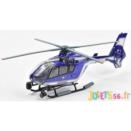 HELICOPTERE GENDARMERIE EUROCOPTER EC135 1.43E - Jouets56.fr - Magasin jeux et jouets dans Morbihan en Bretagne