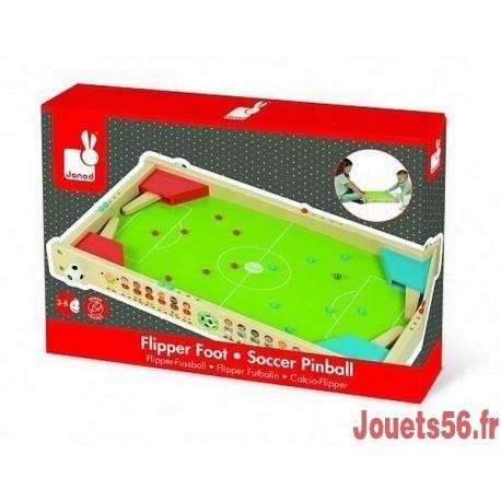 FLIPPER BOIS FOOT CHAMPIONS-jouets-sajou-56