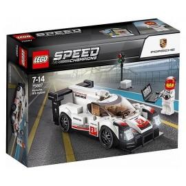 75887 PORSCHE 919 HYBRID LEGO SPEED CHAMPIONS - Jouets56.fr - Magasin jeux et jouets dans Morbihan en Bretagne