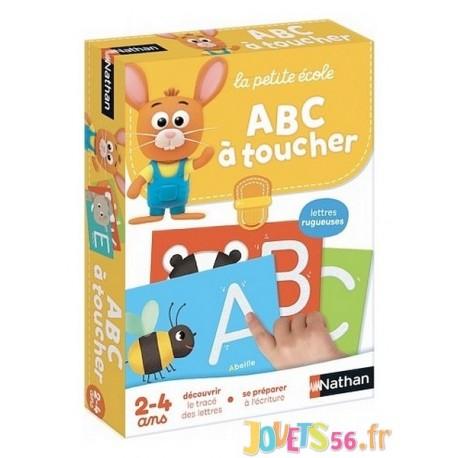 ABC A TOUCHER LA PETITE ECOLE - Jouets56.fr - Magasin jeux et jouets dans Morbihan en Bretagne