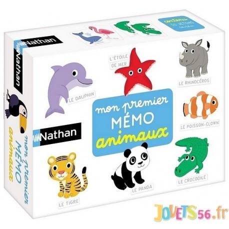 MON PREMIER MEMO ANIMAUX - Jouets56.fr - Magasin jeux et jouets dans Morbihan en Bretagne