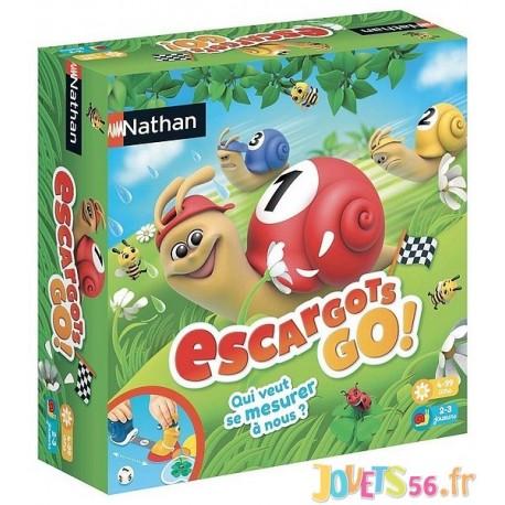 JEU ESCARGOTS GO - Jouets56.fr - Magasin jeux et jouets dans Morbihan en Bretagne