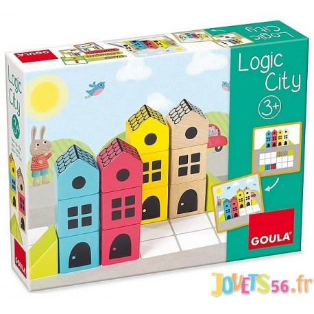 JEU LOGIC CITY - Jouets56.fr - Magasin jeux et jouets dans Morbihan en Bretagne