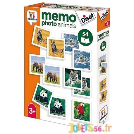 MEMO PHOTO ANIMAUX - Jouets56.fr - Magasin jeux et jouets dans Morbihan en Bretagne