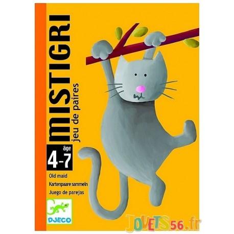 JEU CARTES MISTIGRI - PAIRES - Jouets56.fr - Magasin jeux et jouets dans Morbihan en Bretagne