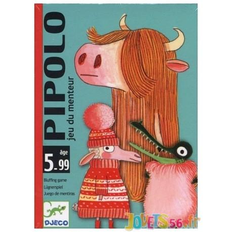 JEU CARTES PIPOLO - Jouets56.fr - Magasin jeux et jouets dans Morbihan en Bretagne