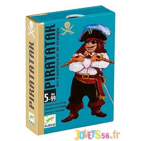 JEU CARTES PIRATATAK - Jouets56.fr - Magasin jeux et jouets dans Morbihan en Bretagne
