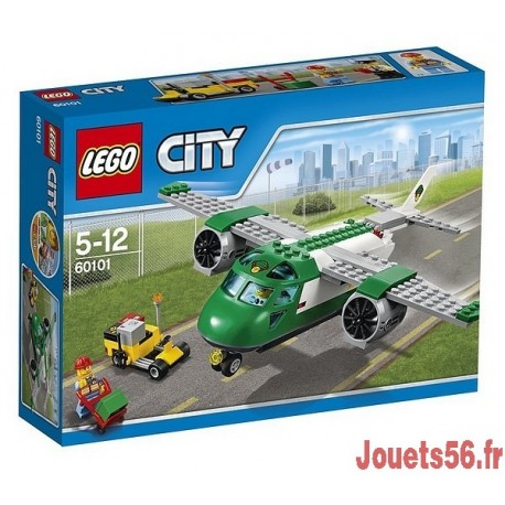 60101 AVION CARGO CITY-jouets-sajou-56