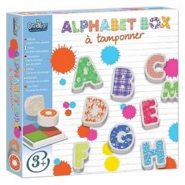 TAMPONS ALPHABET BOX - Jouets56.fr - Magasin jeux et jouets dans Morbihan en Bretagne
