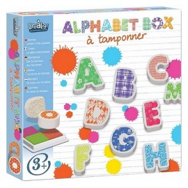 TAMPONS ALPHABET BOX