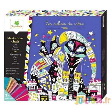 COFFRET CHAT MULTI ACTIVITES LOVELY BOX XL - Jouets56.fr - Magasin jeux et jouets dans Morbihan en Bretagne