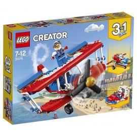 31076 AVION DE VOLTIGE HAUT RISQUE LEGO CREATOR - Jouets56.fr - Magasin jeux et jouets dans Morbihan en Bretagne