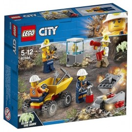60184 EQUIPE MINIERE LEGO CITY - Jouets56.fr - Magasin jeux et jouets dans Morbihan en Bretagne