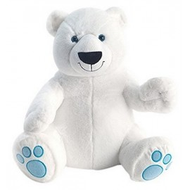 PELUCHE OURS POLAIRE 40CM