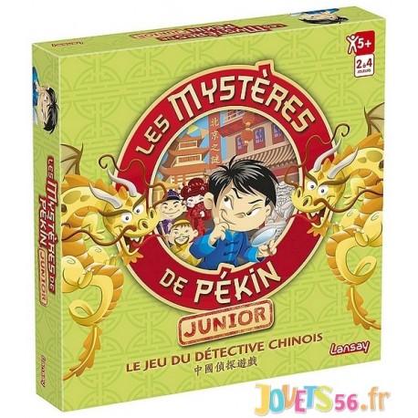 JEU LES MYSTERES DE PEKIN JUNIOR - Jouets56.fr - Magasin jeux et jouets dans Morbihan en Bretagne